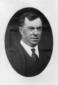 Judge Cohalan, portrait facing forward.