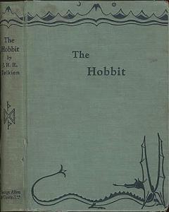 Cover art of 1937 The Hobbit.