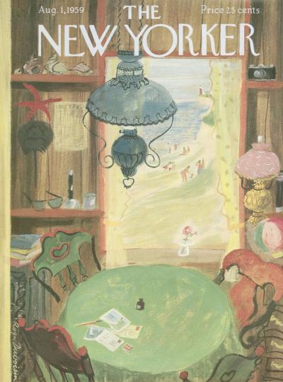 The New Yorker, August 1, 1959 - Issue # 1798 - Vol. 35 - N° 24 - Cove