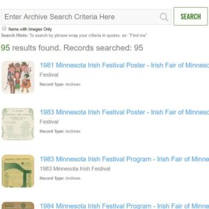 "Image of the ""search"" archives landing page."
