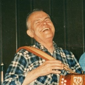 Marty McHugh laughing