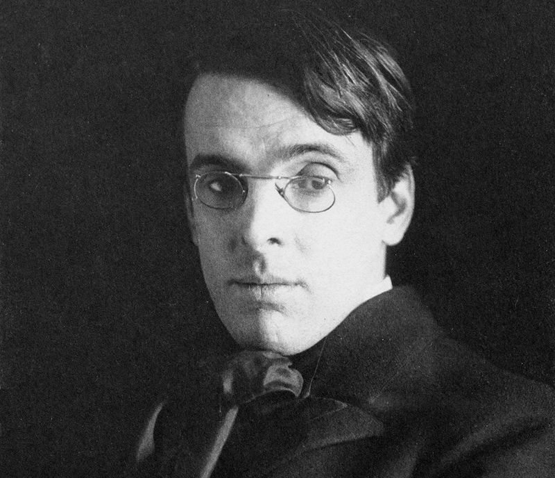 William Butler Yeats by Alice Broughton, 1903