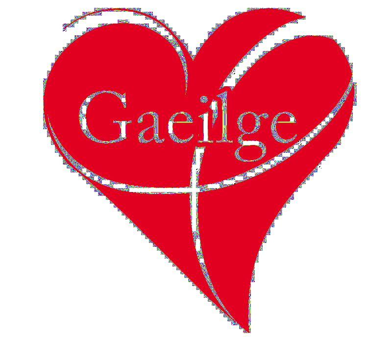 Gaeilge Heart