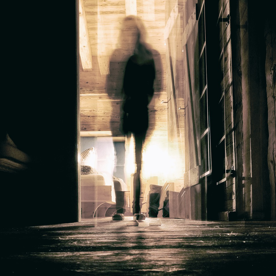 Spooky spirit image