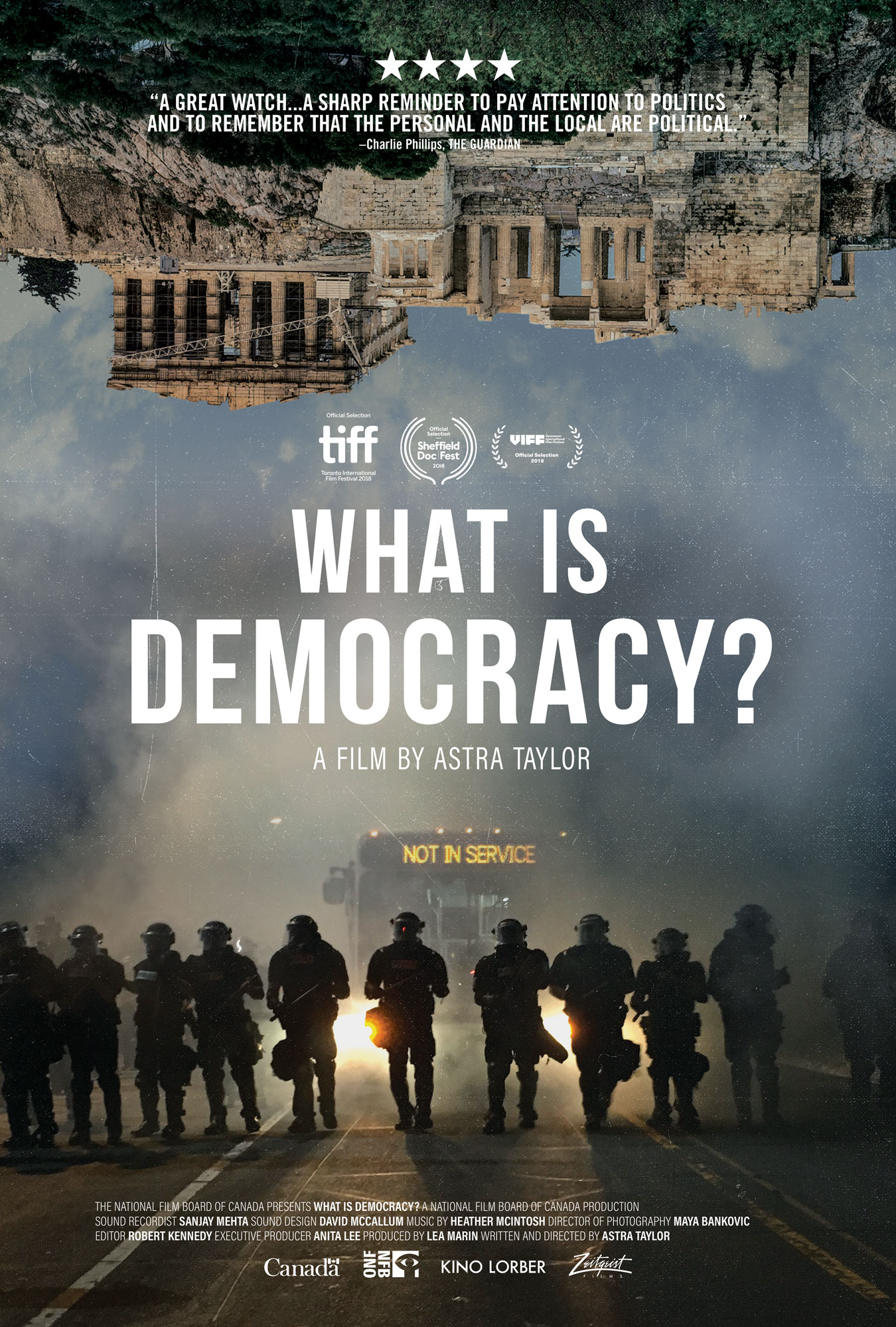 What is Democracy? Film poster.
