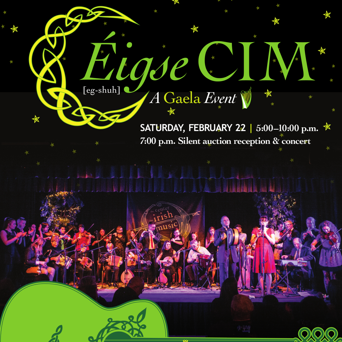 Support Irish traditional music at Eigse CIM
