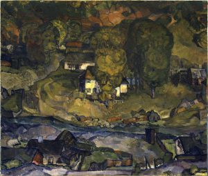 Connemara Patch, a painting
