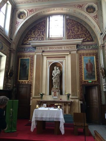 The Chapel of St. Patrick in the former Irish College of Paris.