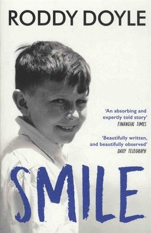 """""""Smile"""" by Roddy Doyle - cover art"""