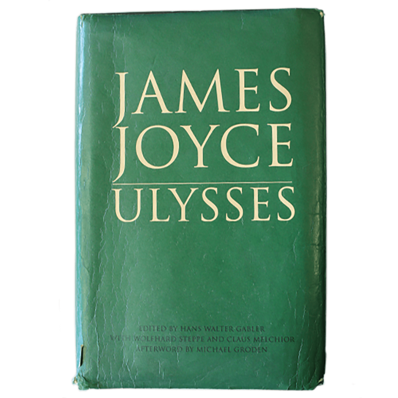 """Ulysses"" by James Joyce, book cover"
