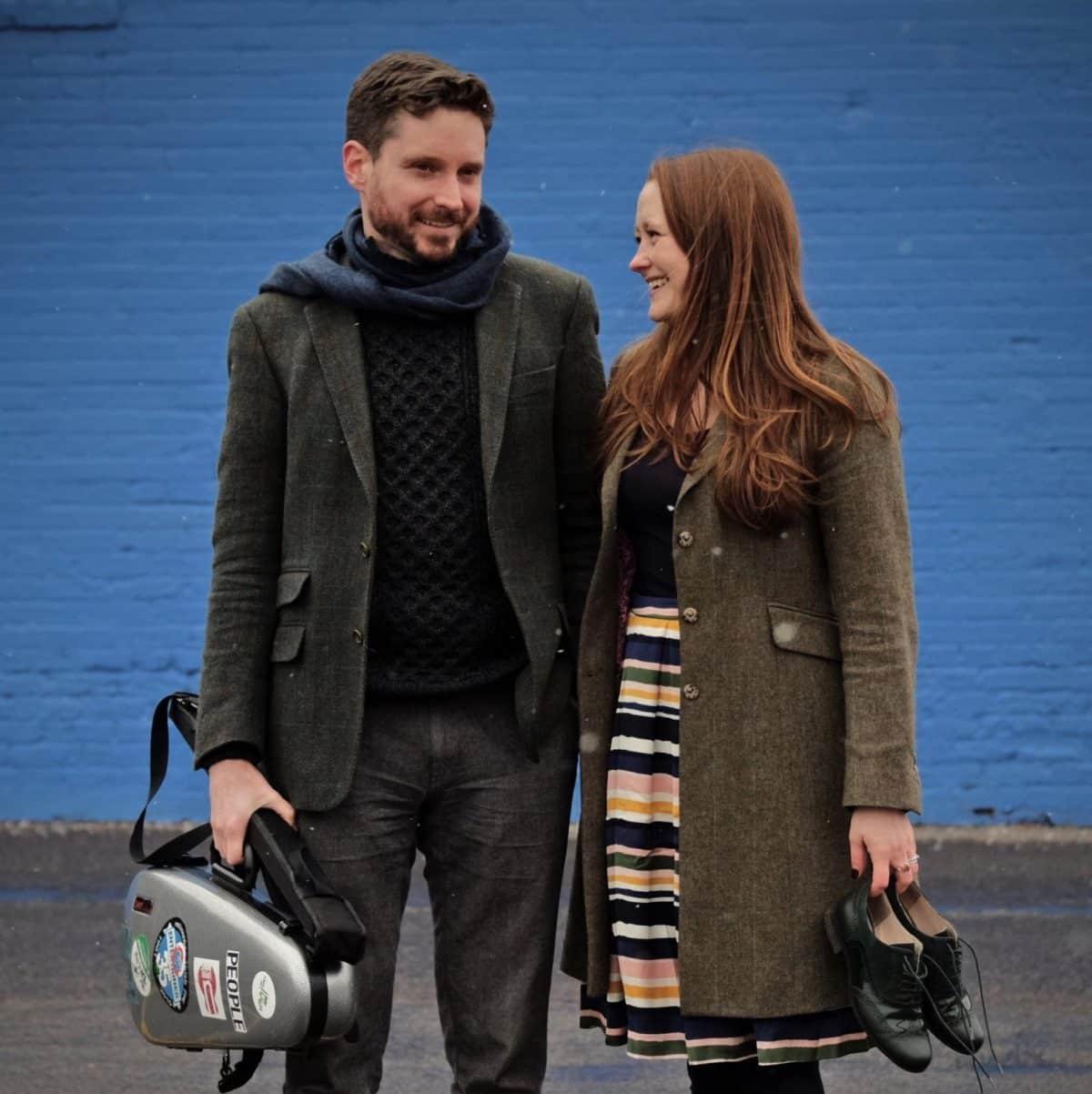 Danny Diamond and Anna Lethert