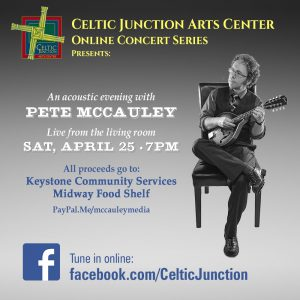 Pete McCauley Concert Flier