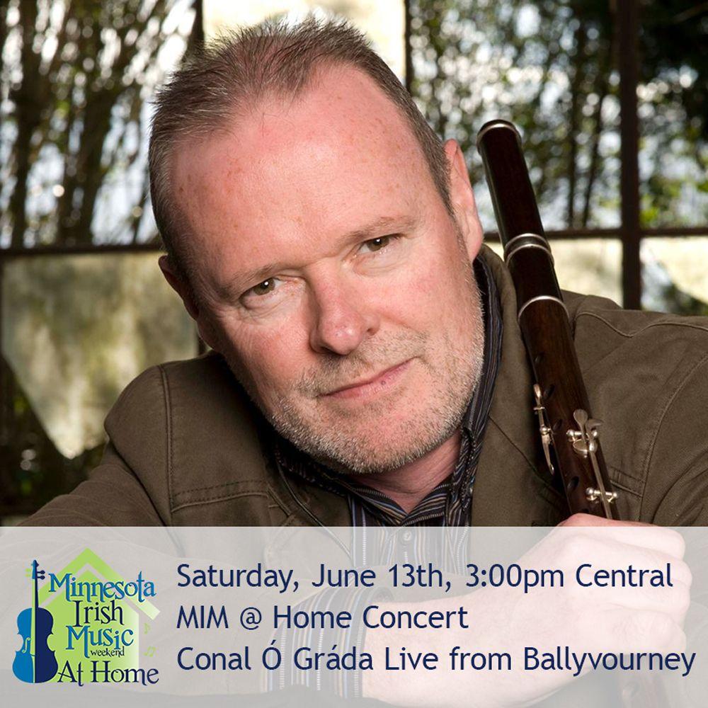 Conal Ó Gráda Live in Concert, Minnesota Irish Music Weekend