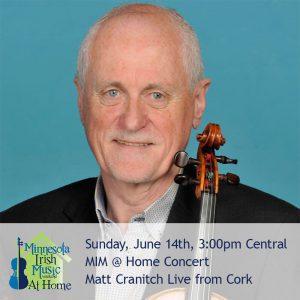 Matt Cranitch live in Concert. Minnesota Irish Music Weekend.