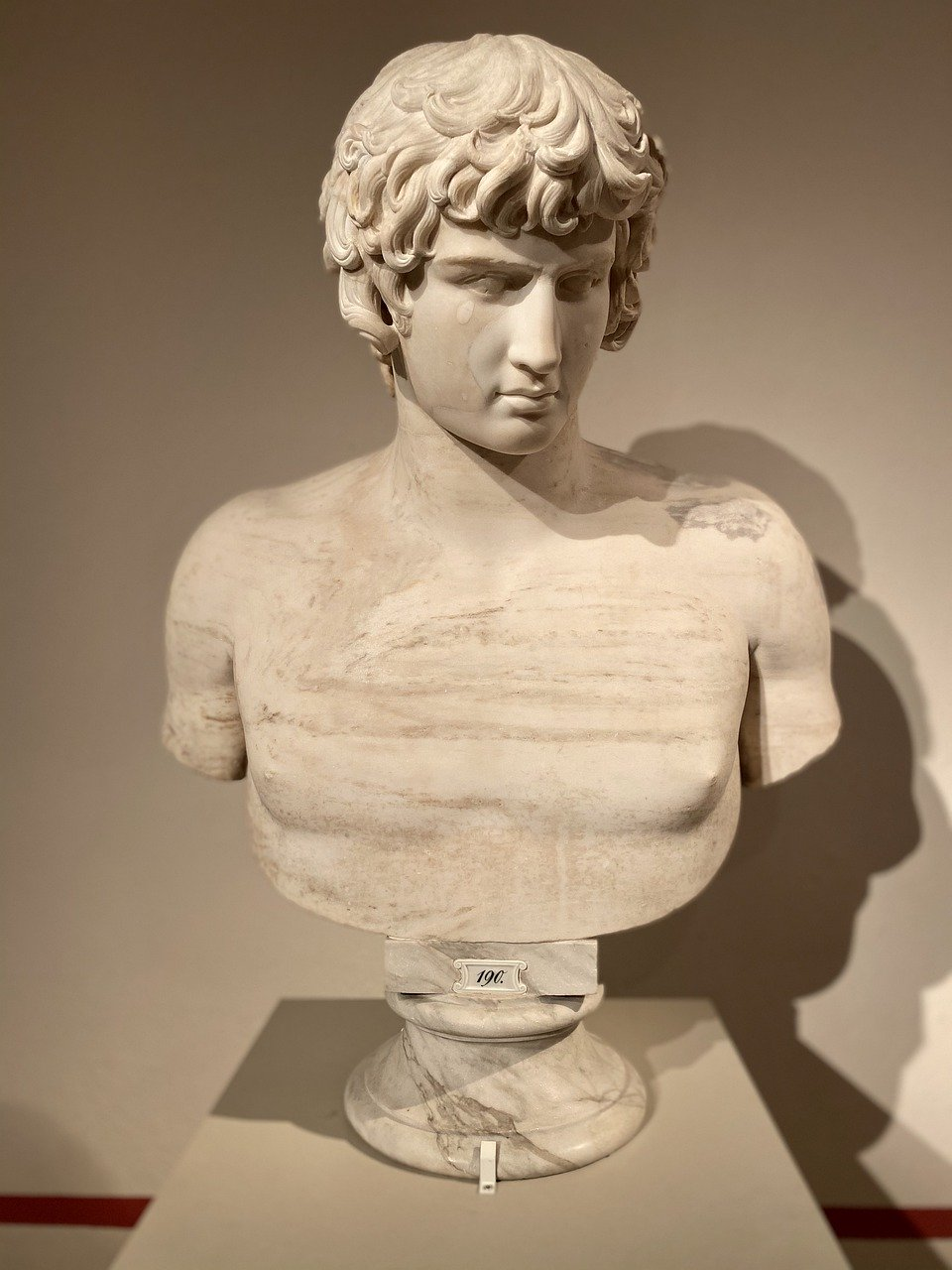 Antinous Sculpture used for The Odyssey in Irish