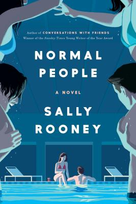 """Normal People"" book cover. Sally Rooney books."