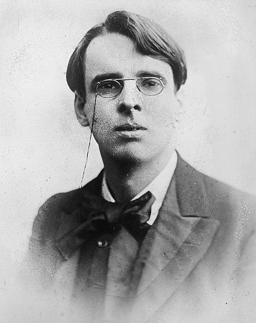 W. B. Yeats (1865–1939), Irish poet.
