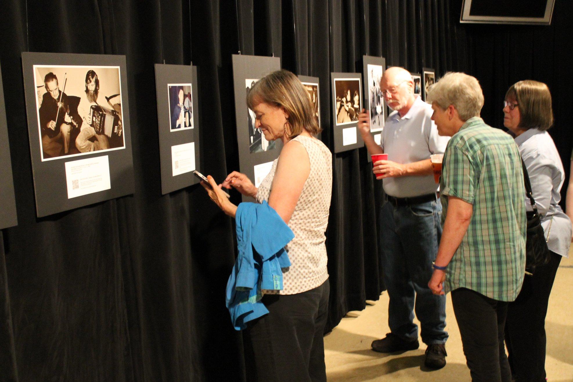 Minnesota Irish History display