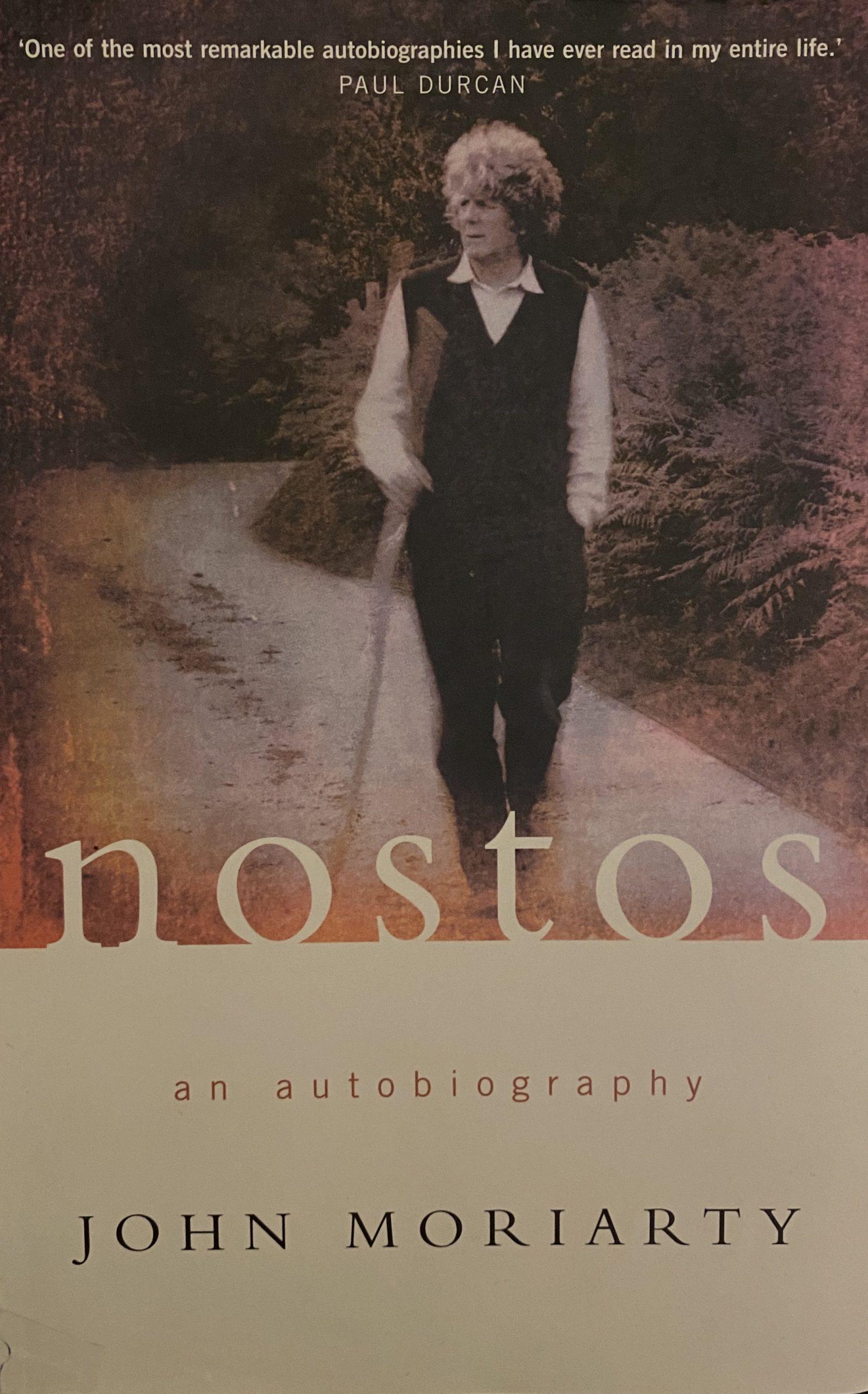 Book Cover, Nostos by John Moriarty