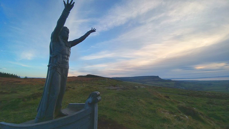Manannán mac Lir statue