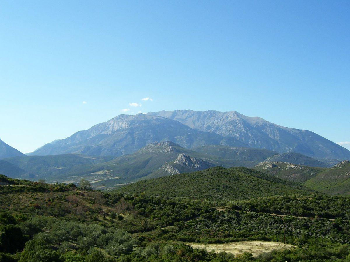 The mountain, Parnassos