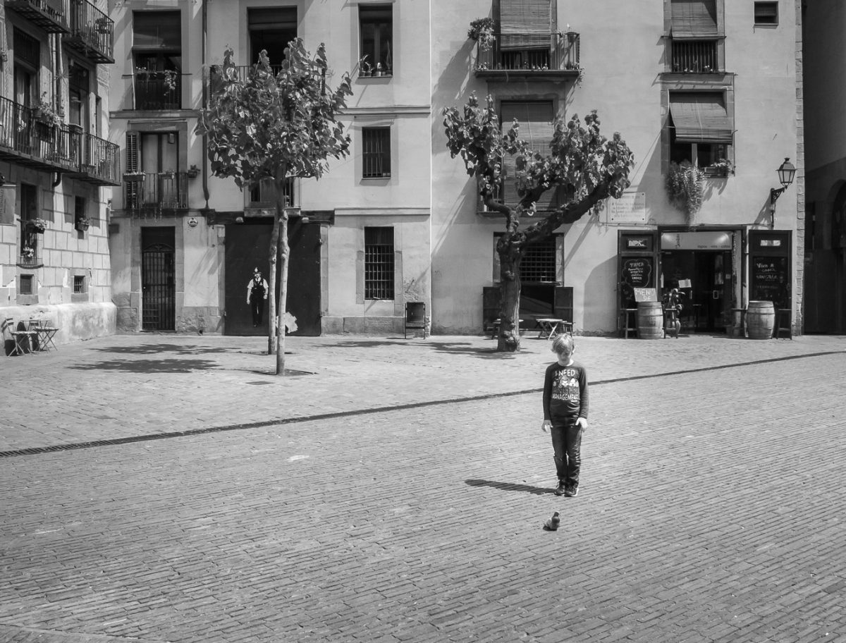 Street photography. Anger Management Barcelona 2014 by Tom Dunn