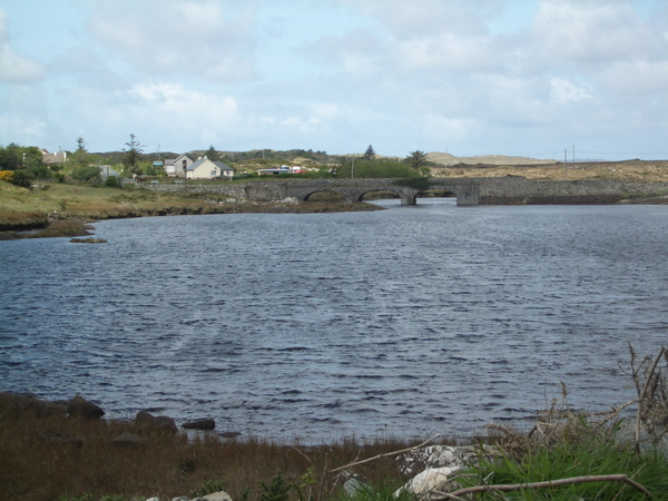 Where John Moriarty lived in Connemara.