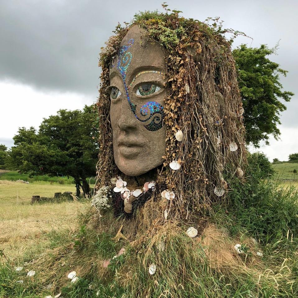 Sculpture of Eriu