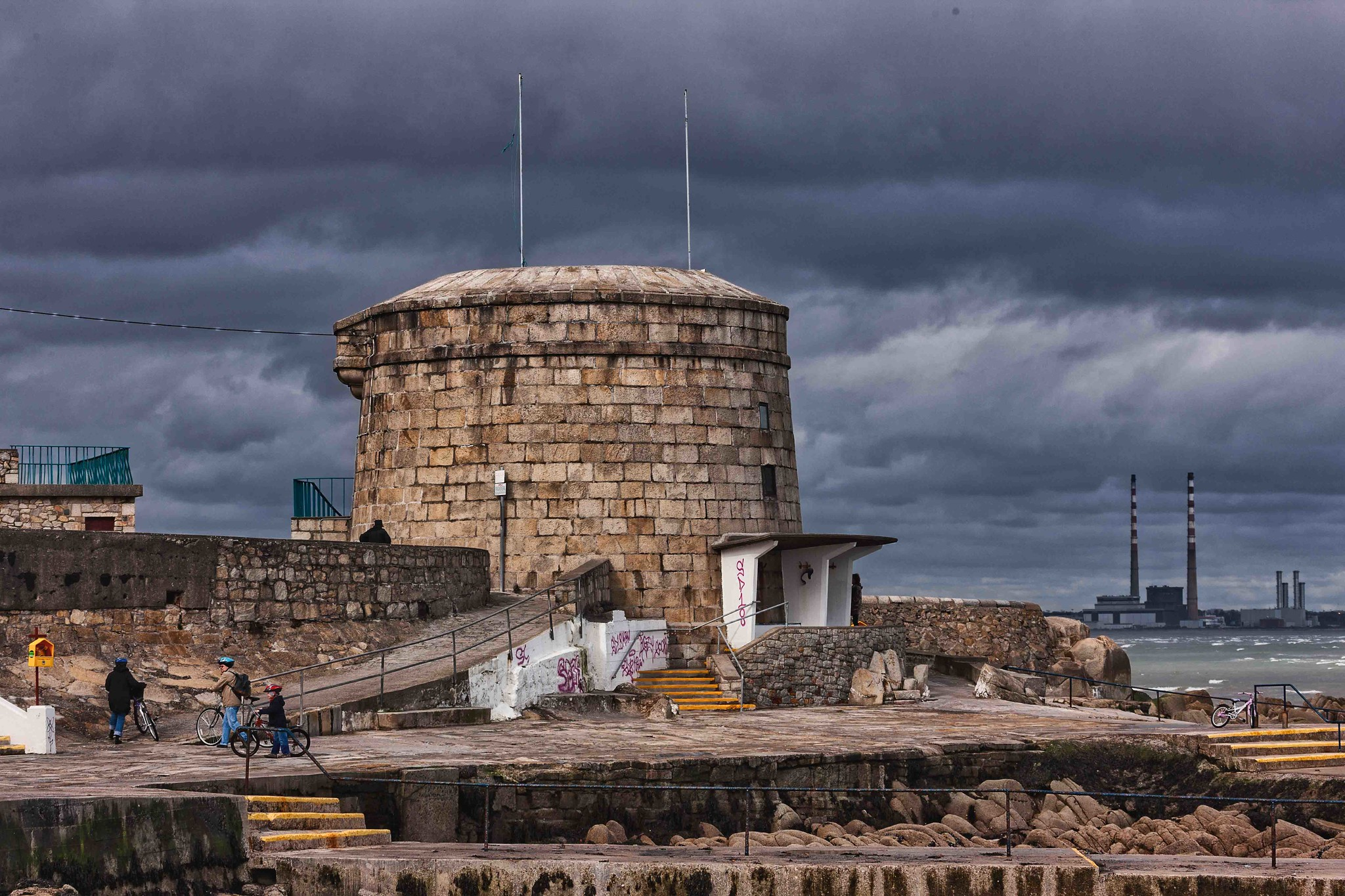 Seapoint and the Martello Tower by William Murphy