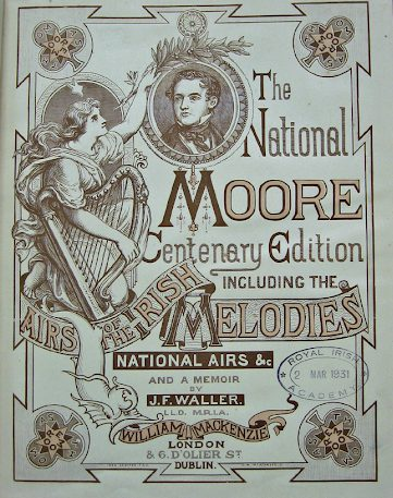Moore's Melodies, Centenary Edition 1880