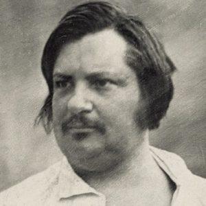 Daguerreotype of Balzac taken in 1842