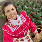 Sarah DeHerrera of the Choctaw Nation of Oklahoma.