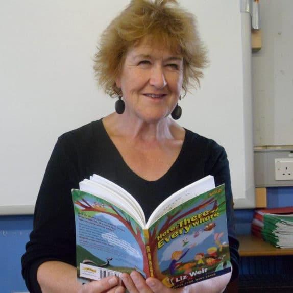 Liz Weir- Irish storyteller, for Irish Arts Week