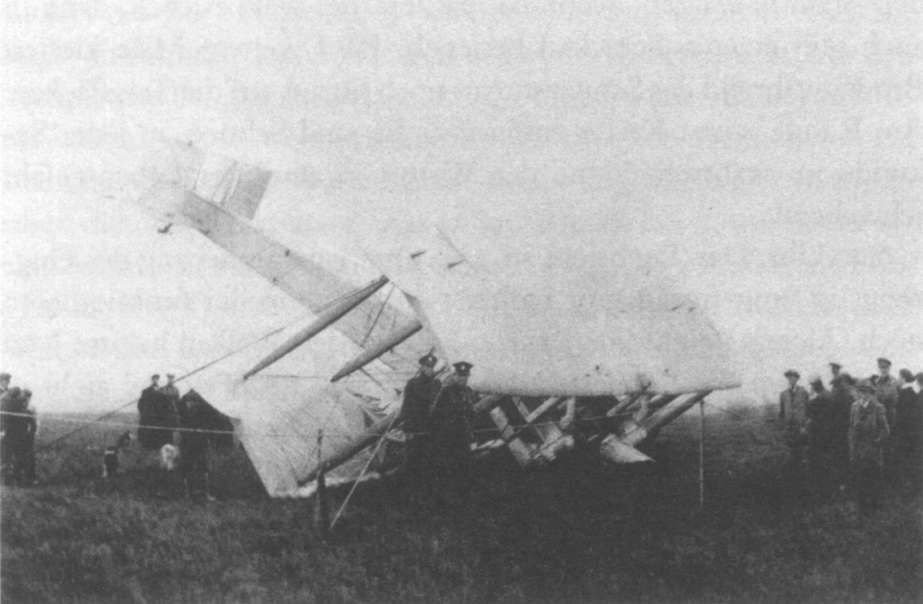 Vickers Vimy crashed into a bog in Clifden, Ireland.