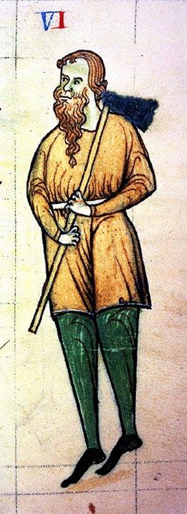 Drawing of Diarmaid Mac Murrough