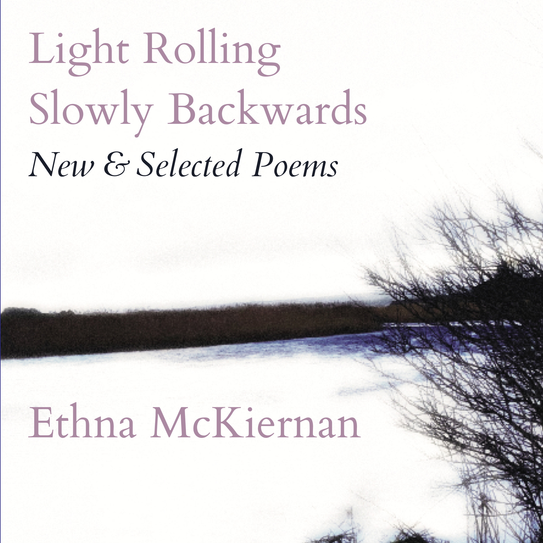 Ethna McKiernan Book Launch, cover art for 5th book of poetry.