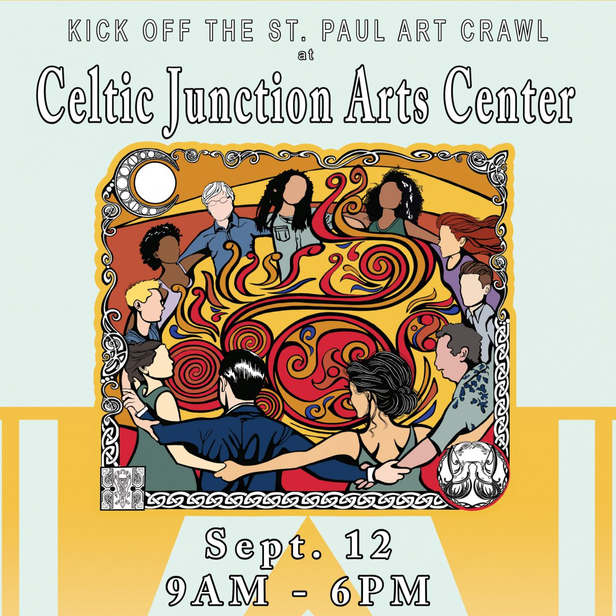 Kick off the St. Paul Art Crawl at Celtic Junction Arts Center