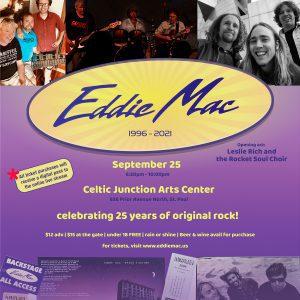 Eddie Mac 25th Anniversary