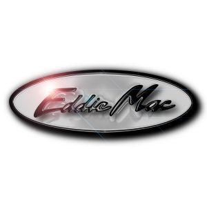 Eddie Mac logo on white