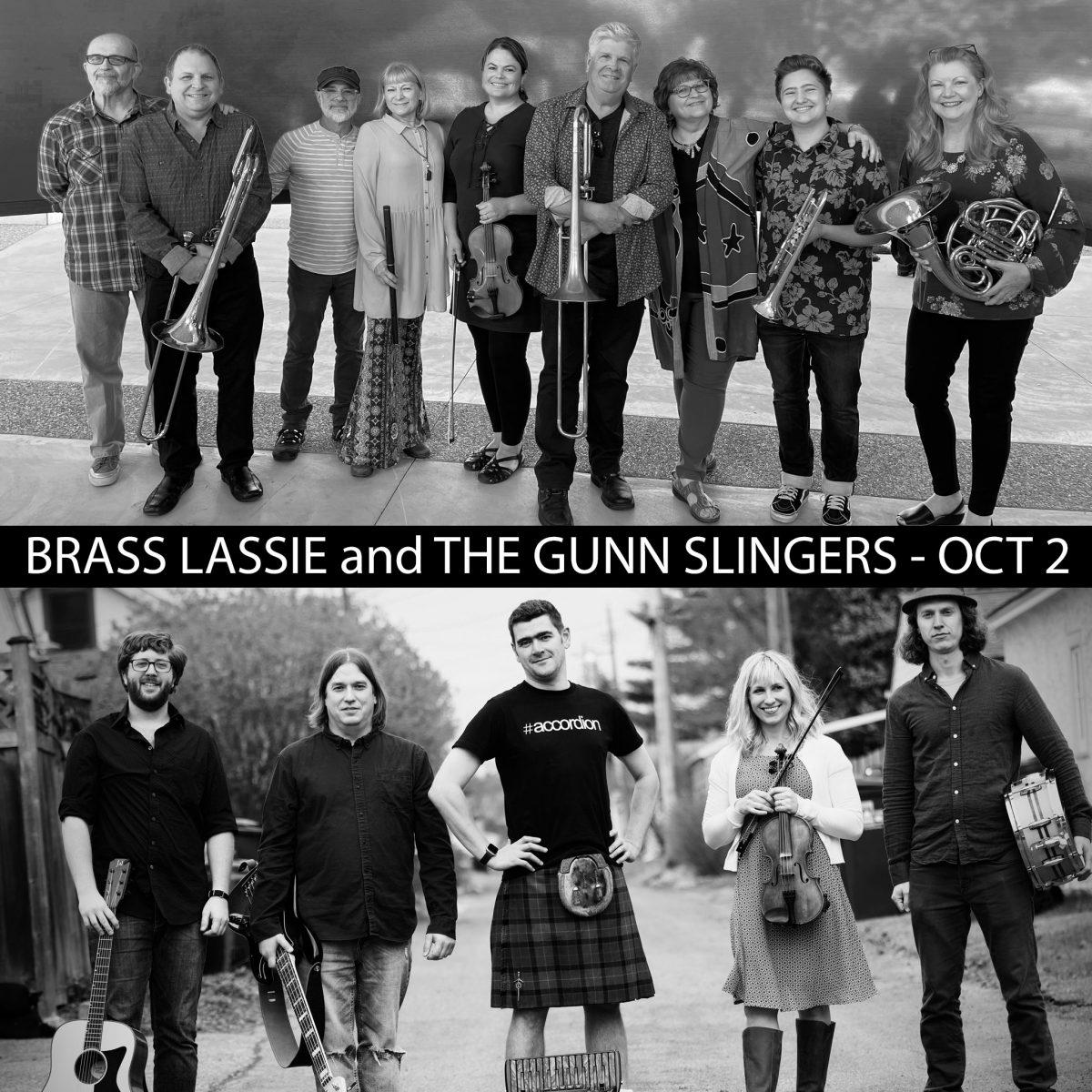 Brass Lassie and The Gunn Slingers