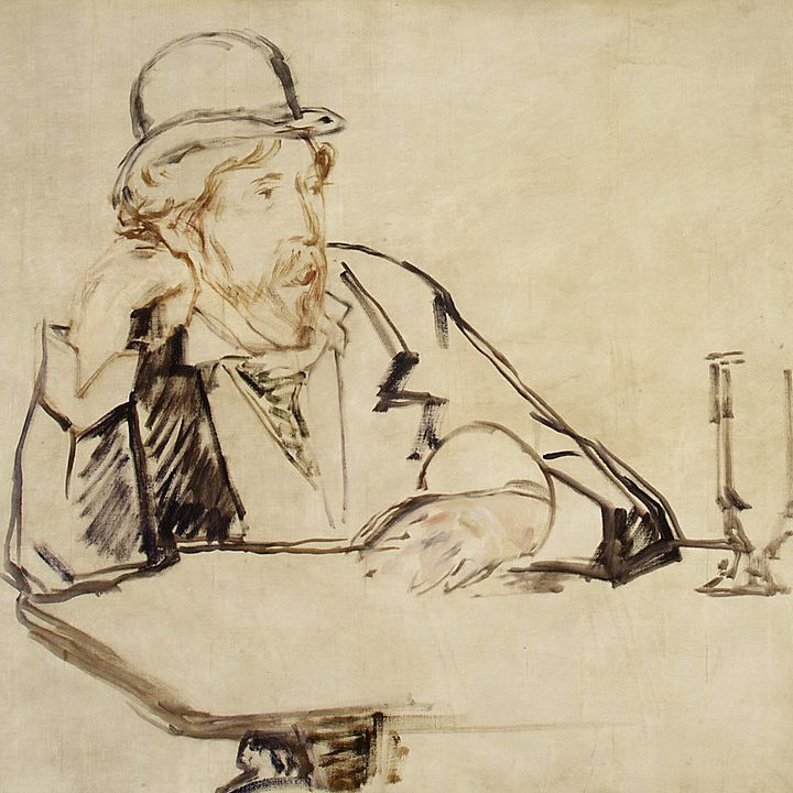 George Moore by Édouard Manet