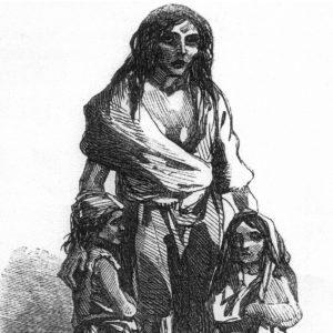 Irish famine art