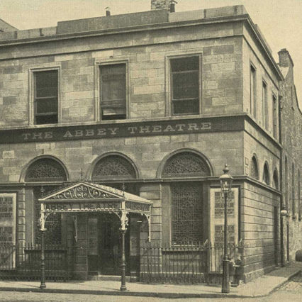 Photo of Abbey Theatre in 1913.