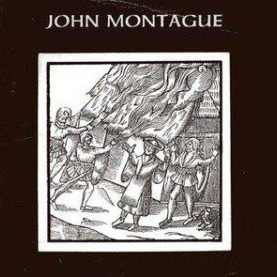 """""""The Rough Field"""" book cover by John Montague"""